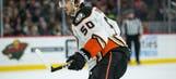 Ducks' Antoine Vermette suspended 10 games for slashing linesman