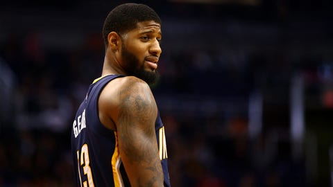 Paul George, SF, Indiana Pacers