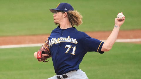 Milwaukee Brewers call up pitching prospect Josh Hader