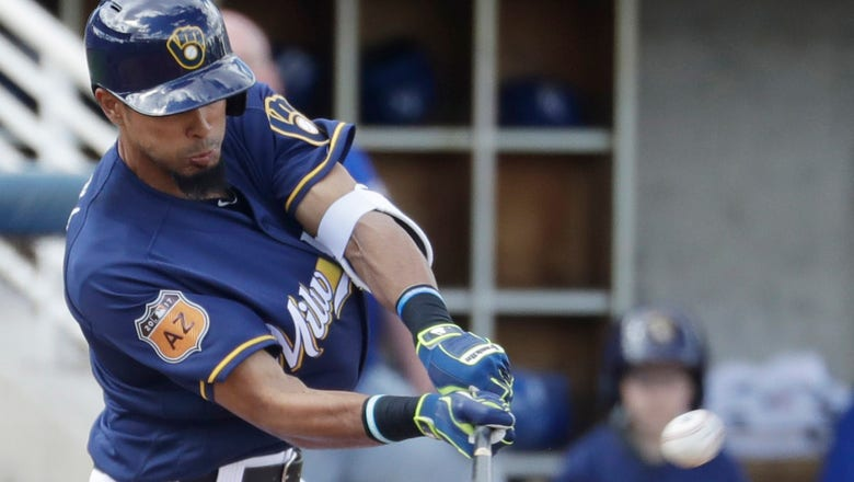 Yadiel Rivera homers, but Brewers fall 6-3 to Royals