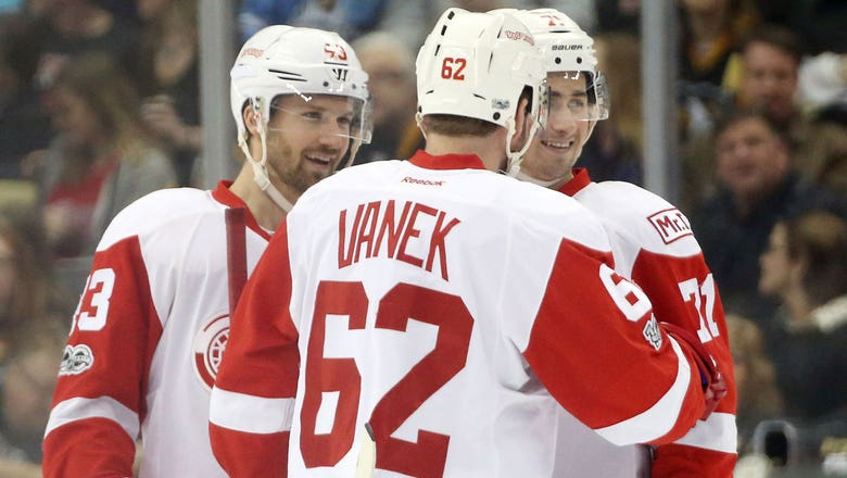 Red Wings earn second straight impressive victory