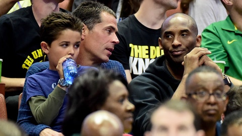 Pelinka explained how his experience as an agent will help bring players to the Lakers