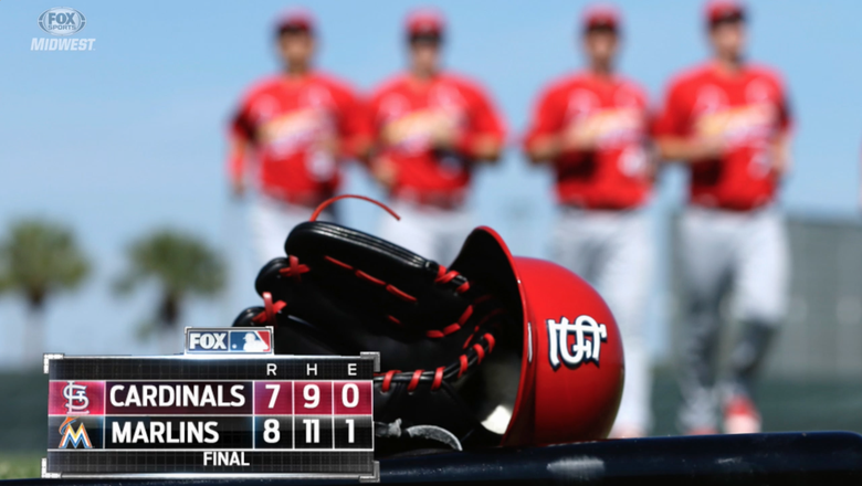Cardinals fall 8-7 to Marlins in spring opener