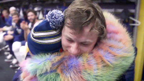 Vladimir Tarasenko gives 11-year-old girl birthday gift to remember