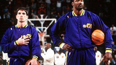 NBA (career): John Stockton and Karl Malone