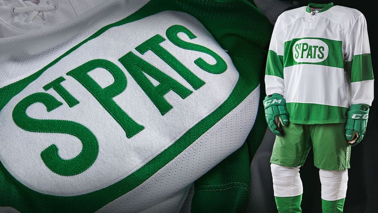 Maple Leafs to wear special 'St. Pats' throwbacks in March