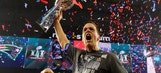 Tom Brady says 'I'll never stop (playing) as long as I'm able'