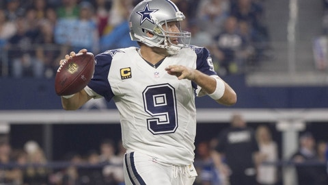Romo is a no-go ... except for 2 teams