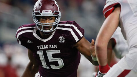 Cleveland Browns: Myles Garrett, DE/OLB, Texas A&M