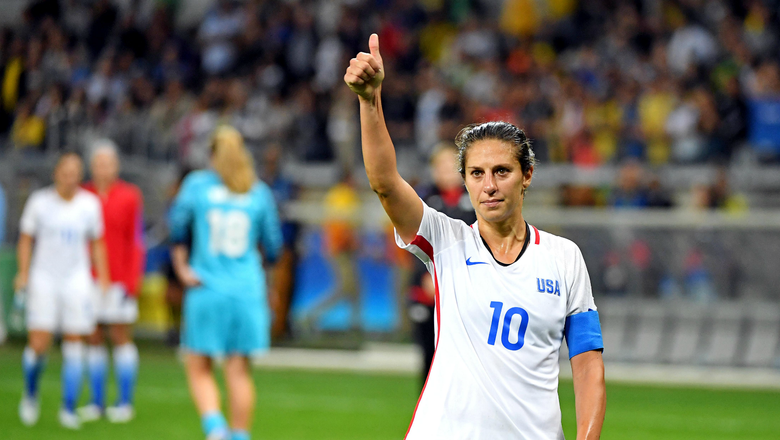 Carli Lloyd wants to play through the World Cup and (maybe) the Olympics before retiring