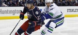 Blue Jackets blanked by struggling Canucks, 3-0