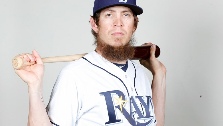Rays' Colby Rasmus shaves ridiculed beard after wife gave him ultimatum