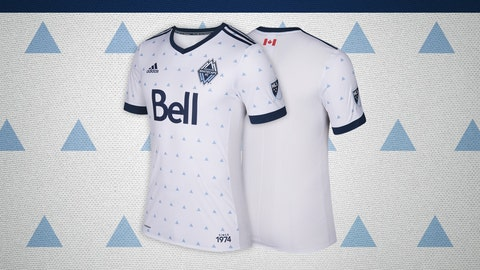 Vancouver Whitecaps primary kit