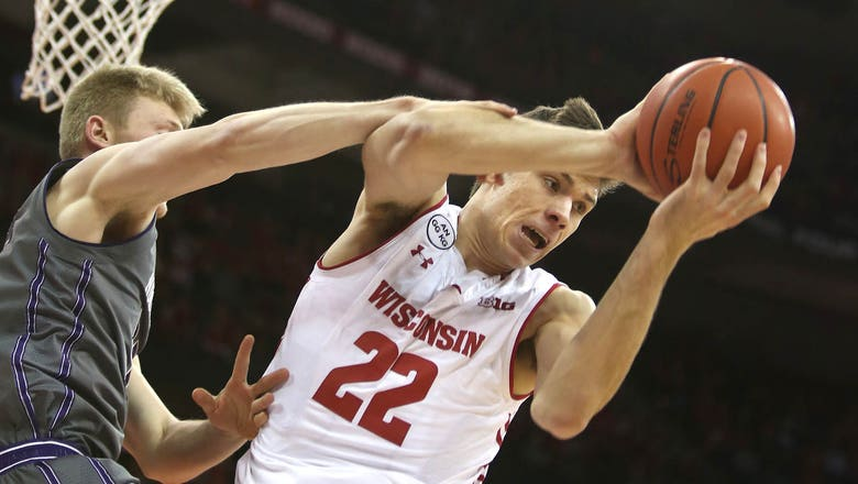 Badgers given 8 seed in NCAA tournament, will face Virginia Tech
