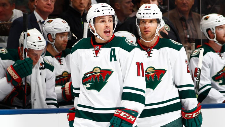 Wild's Zach Parise, Jason Pominville latest to be diagnosed in NHL mumps outbreak