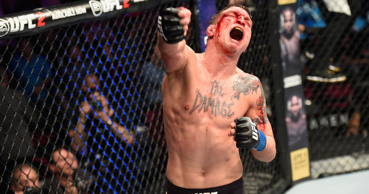 Darren Elkins completes epic comeback with vicious third-round knockout at UFC 209