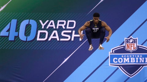 Meet Obi Melifonwu, the most freakish athlete at the National Football League combine