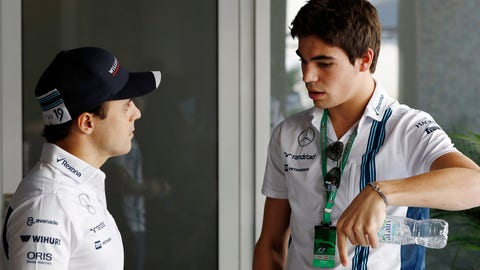 Felipe Massa (L) and Lance Stroll (R) will race for Williams in 2017. (Photo: Glenn Dunbar/LAT Photographic)