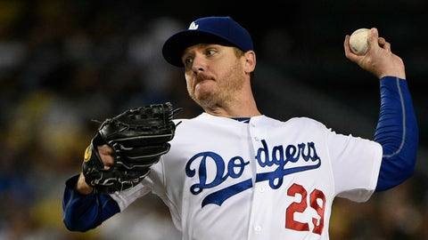 Dodgers' rotation injuries