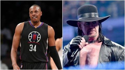 Paul Pierce — The Undertaker