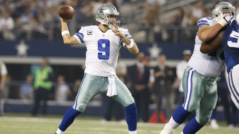 Passing Troy Aikman as the franchise's all-time passing leader (2014)