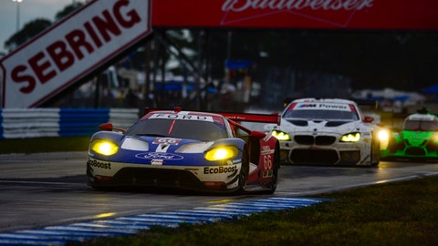 Forty-six cars are entered for the 12 Hours of Sebring, which will take place on March 18, 2017. (Photo: Richard Dole/LAT Photographic)