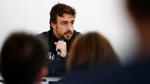 Fernando Alonso singles out Honda as the only missing piece in McLaren's quest to return to the top. (Photo: Zak Mauger/LAT Images)