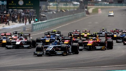 The GP2 Series has been re-branded as FIA Formula 2 with immediate effect. (Photo: Zak Mauger/GP2 Series Media Service)