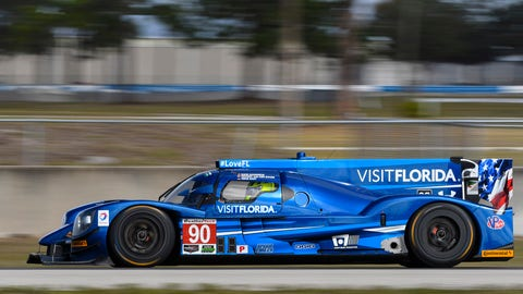 9. No. 90 VisitFlorida Racing Multimatic/Riley - P
