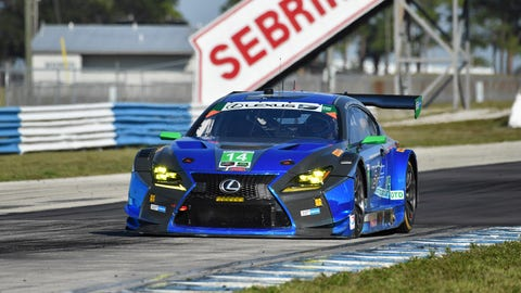 5. No. 14 3GT Racing Lexus RCF GT3 - GTD