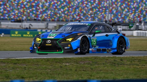 4. No. 15 3GT Racing Lexus RCF GT3 - GTD