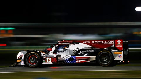 1. No. 13 Rebellion Racing ORECA - P