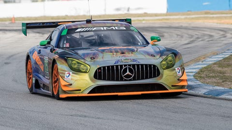 1. No. 75 SunEnergy1 Racing Mercedes-AMG GT3 - GTD