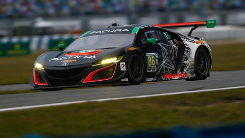 14. No. 86 Michael Shank Racing with Curb-Agajanian Acura NSX-GT3 - GTD