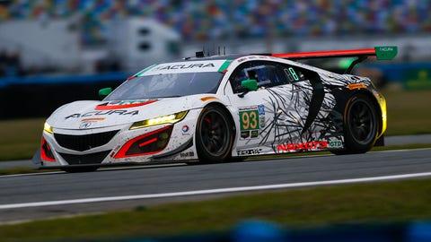 11. No. 93 Michael Shank Racing with Curb-Agajanian Acura NSX-GT3 - GTD
