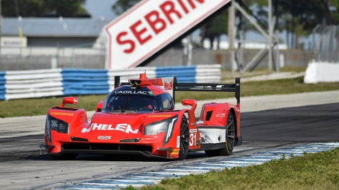 3. No. 31 Whelen Engineering Racing Cadillac DPi - P
