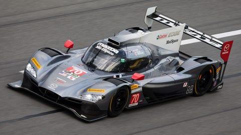 10. No. 70 Mazda Motorsports Mazda DPi - P