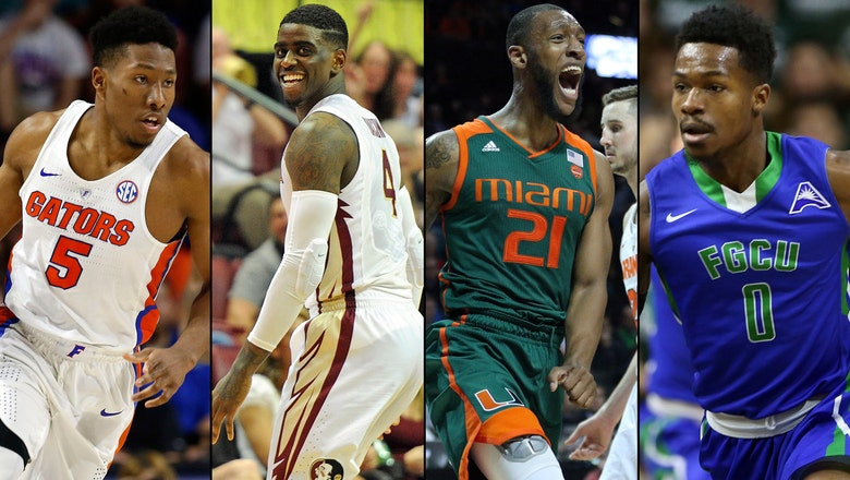 Let's dance: Where Florida's teams ended up in the NCAA tournament