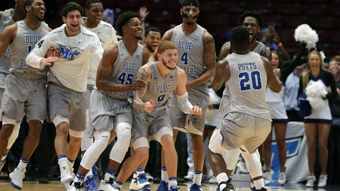 Middle Tennessee State (No. 12 seed, South Region)