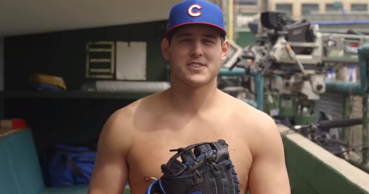 Anthony Rizzo's naked speeches inspired the Cubs' World Series run