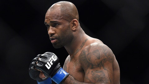 Jimi Manuwa scored a KO victory at UFC London over Corey Anderson