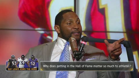Lewis: Why the Hall of Fame is so important to NFL stars