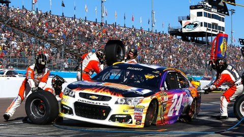 Who will make a mistake on pit road?