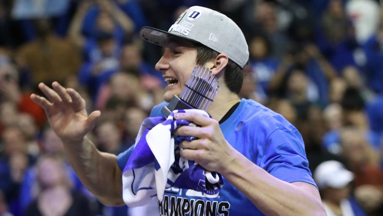 Grayson Allen explains why he has no regrets about returning to Duke this season