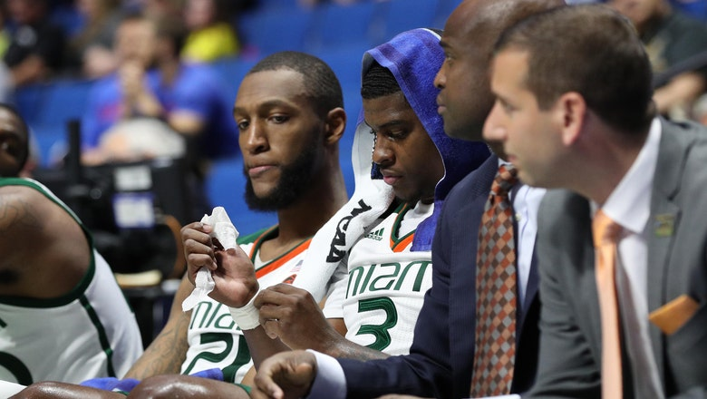 Miami ousted from NCAA Tournament with first-round loss to Michigan State