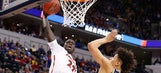 Louisville's Deng Adel dropped a ferocious dunk all over Michigan