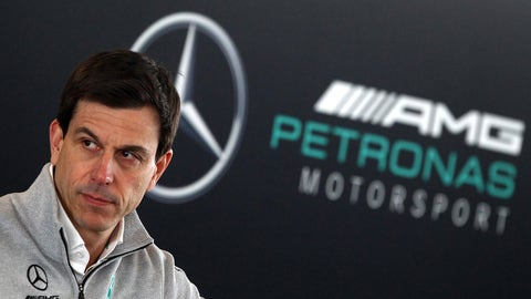 """We take every one of our rivals seriously,"" emphasized Toto Wolff. (Photo: LAT Images)"