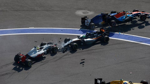 Racing incidents