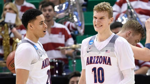 Approx. 10:09, TBS: No. 2 Arizona vs. No. 11 Xavier