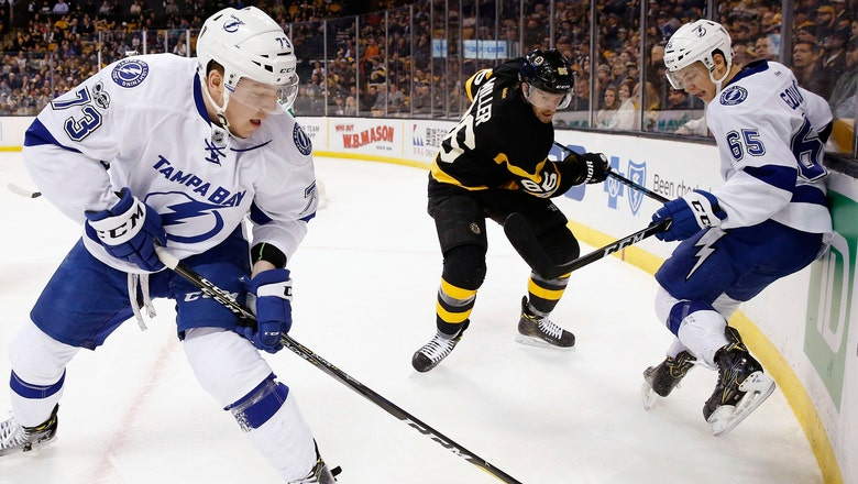 Nikita Kucherov secures hat trick with empty-netter, Bolts best Bruins
